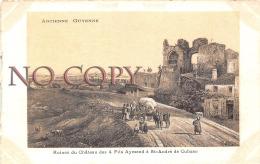(33) Ancienne Guyenne - Ruines Du Château Des 4 Fils Aymond à St André De Cubzac  - Illustration - Francia