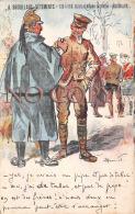 (33) Illustration Henriot - Dragon Et Soldat Anglais - Pipe Tabac -  Ed. Bordeaux PUB Brouillaud - Humoristiques
