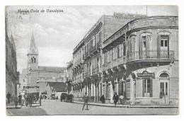 MELILLA CALLE DE CANALEJAS 1927  VIAGGIATA FP - Melilla
