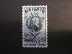 Italien Nr. 795 Gestempelt / Yvert 560 Used (C45) - 1946-.. République