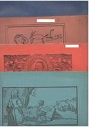 4 Album Da Disegno Scuole Elementari Anni 40 - Disegno Tecnico