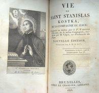 Vie De Louis De Gonzague & Stanislas Kostka 1816 - Livres, BD, Revues