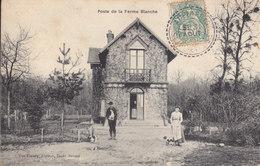 78 . Yvelines : Auffargis :  Poste De La Ferme Blanche . - Auffargis