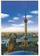 SHANGHAI - Oriental Pearl Broadcasting + TV-Tower - China