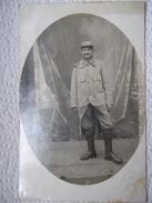 PHOTOGRAPHIE DE SOLDAT EN BOTTES - Uniformes