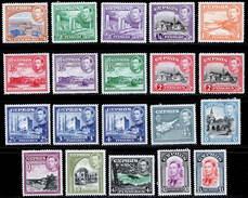 Cyprus 1938 MH Set SG 151/163 Cat £250 - Zypern (...-1960)