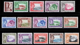 Dominica 1938-1947 MH Set SG 99/109 Cat £75 - Dominica (...-1978)