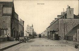 35 - SAINT-MALO - Tramway - Tortillard - Saint Malo