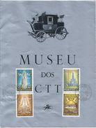 Museu Dos CTT Com Emissão 50 Anos De Fátima Obliterada No Museu Em 1967.Museum CTT With Emission 50 Years Of Fatima.4scn - Variétés Et Curiosités