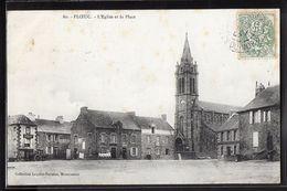 CPA 22 - Ploeuc, L'église Et La Place - Frankreich