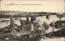 44 - LE CROISIC - Débarquement De La Sardine - PORT-LIN - Le Croisic