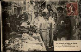 44 - NANTES - Première Braderie 1932 - Groupe De Marins - Nantes