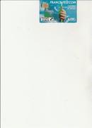 TELECARTE F 54 LILLE - FIBRE OPTIQUE - 50 UNITES - UTILISEE COTE : + De 80 € - 1989