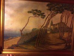 Tableau Toile De 1934 - Acryliques
