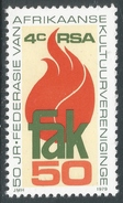 South Africa. 1979 50th Anniv Of FAK. 4c MNH SG 473 - South Africa (1961-...)