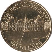 41 LOIR ET CHER CHEVERNY LE CHÂTEAU N°2 MÉDAILLE MONNAIE DE PARIS 2017 JETON TOKEN MEDALS COINS - Monnaie De Paris