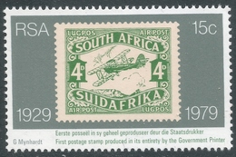 South Africa. 1979 50th Anniv. Of Stamp Production In South Africa. 15c MNH. SG 456 - South Africa (1961-...)