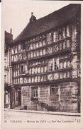 14 FALAISE -- Maison Du ( XVI° S ) Rue Des Cordeliers - Falaise