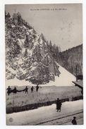 Cpa Suisse La Chaux De Fonds Les Convers Le Roc Mil Deux 1913 - BE Berne