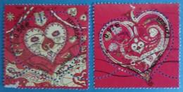 France 2013 :  Saint-Valentin, Coeur D'Hermès N° 4717 à 4718 Oblitéré - Gebraucht