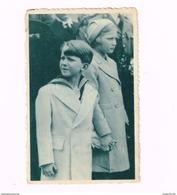 Prince Baudouin Et Princesse Joséphine Charlotte Au Lancement D'une Malle à Hoboken. - Familles Royales