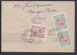 """IRAN - 1931 """"Pharmacie Pasteur Téhéran"""" Enveloppe Pour Paris - B/TB - - Iran"""