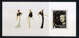 """BLOC SOUVENIR  PHILATELIQUE """" Jeanne LANVIN 1867 - 1946 """" NEUF ** SOUS BLISTER - Souvenir Blocks & Sheetlets"""