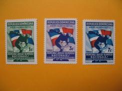 Timbre 1937  N° 300 à 302  Série Complète Sport Jeux Olympiques Neuf* TB - Dominicaine (République)