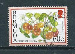 1995 Bermuda 60 Cents Fruits Used/gebruikt/oblitere - Bermuda