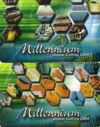 CARTES PREPAYEES PAYS-BAS Millennium  (lot De 2) - Cartes GSM, Prépayées Et Recharges
