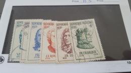LOT 372356 TIMBRE DE FRANCE OBLITERE N°1082 A 1087 - France