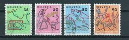 1988 Switzerland Complete Set Pro Juventute Used/gebruikt/oblitere - Pro Juventute
