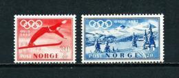 Noruega  Nº Yvert  338-339  En Nuevo - Norwegen
