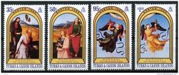 Turks And Caicos Islands, 1983, Painter Raffael, MNH, Michel 629-632 - Turcas Y Caicos