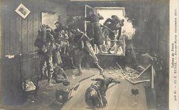 Tableaux -ref 355 - Arts -tableau -peinture - Peintre Ch E Bunel -guerre 1870-71- Bry Sur Marne -seine Et Marne - - Bry Sur Marne