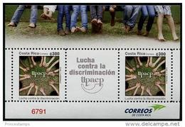 Costa Rica (2013) - Set - / UPAEP - Against Discrimination - Gemeinschaftsausgaben