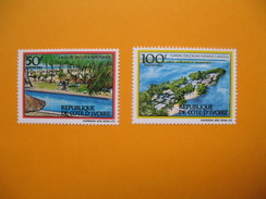 Timbre 1984  N° 701 C Et 701 D Tourisme En Côte D'Ivoire Neuf** TTB - Ivory Coast (1960-...)