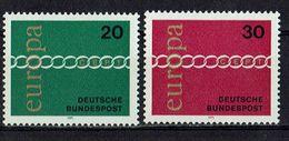 BRD 1971 // Michel 675/676 ** (M9507) - Europa-CEPT
