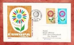 FDC, Europa, Erstausgabestempel Madrid 1964 (42647) - FDC