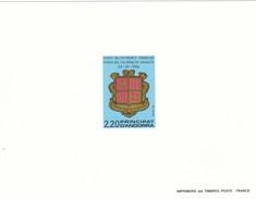 Andorra Francesa Nº 355 En Prueba - French Andorra