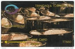 TRINIDAD & TOBAGO(GPT) - Pan In Harmony, CN : 12CTTD(normal 0), Used - Trinidad & Tobago