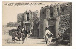 Afrique Occidentale / SOUDAN / TOMBOUCTOU / MAISON HABITEE PAR L' ANGLAIS LAÏNG VENU DE TRIPOLI../ Coll. FORTIER  N° 362 - Soudan