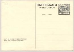 Nederlands Indië - 1941 - 3,5 Cent Karbouw Offset Printing Briefkaart G68 Ongebruikt - Not In H&G - Nederlands-Indië