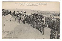 Afrique Occidentale / SOUDAN / TOMBOUCTOU / REVUE à L' INTERIEUR DU FORT BONNIER / Coll. FORTIER  N° 387 - Soudan
