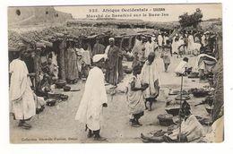 Afrique Occidentale / SOUDAN / MARCHE DE SARAFERE SUR LE BARA-ISA / Coll. FORTIER  N° 355 - Soudan
