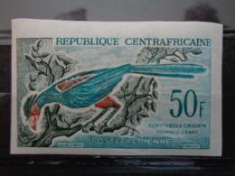 REPUB. CENTRAFRICAINE 1960 NON DENTELES P.A Y&T N° 7 & 8 ** - OISEAUX DIVERS - Centrafricaine (République)