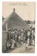 Afrique Française ( Occidentale ) / SENEGAL / DAKAR / VILLAGE INDIGÈNE / Coll. FORTIER  N° 80 - Guinée Française