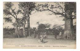 Afrique  Occidentale  /  SENEGAL  /  DAKAR  /  QUARTIER  INDIGÈNE  / Coll. FORTIER  N° 2069 - Guinée Française