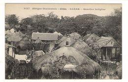 Afrique  Occidentale  /  SENEGAL  /  DAKAR  /  QUARTIER  INDIGÈNE  / Coll. FORTIER  N° 2127 - Guinée Française