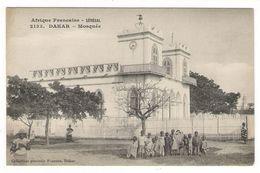 Afrique  Française ( Occidentale ) /  SENEGAL  /  DAKAR  /  MOSQUEE  ( Groupe D' Enfants ) / Coll. FORTIER  N° 2133 - Guinée Française
